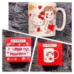 Limited Edition- Peko & Hello Kitty Coffee Mug